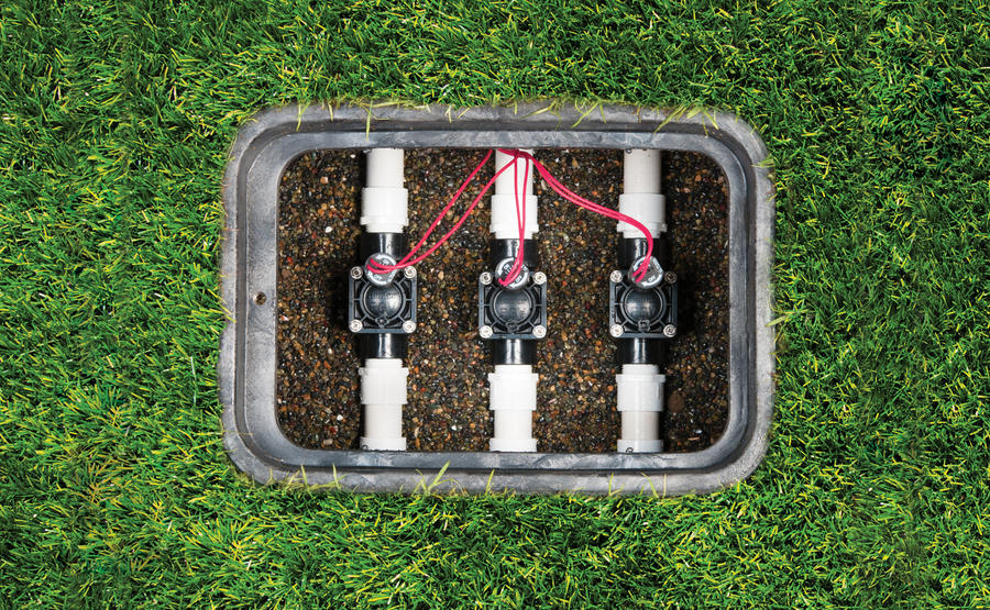 does your sprinkler system stay on when your controller