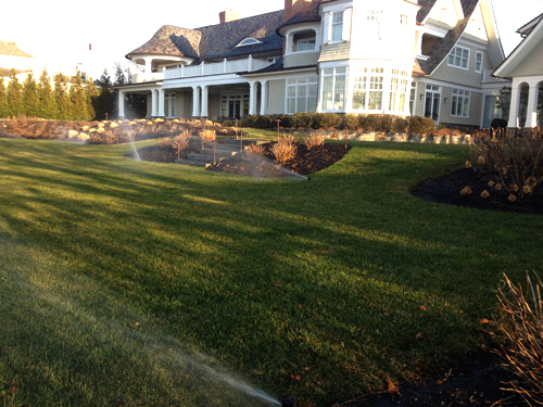 New Sprinkler System Setups Nassau Suffolk Long Island